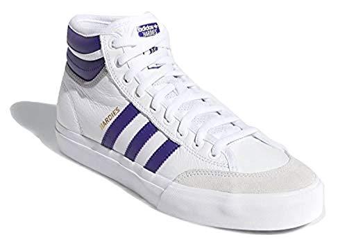 adidas Matchcourt High RX2 X Hardies - Zapatillas deportivas para hombre, color blanco, Blanco (blanco), 41 1/3 EU