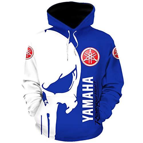 Martin Hoodies,Chaquetas,Camiseta Yam-Aha Punisher 3D Completo Impresión Delgado Hombre Y Mujer Casual Poliéster Sweatshirt Suelto   A1   L