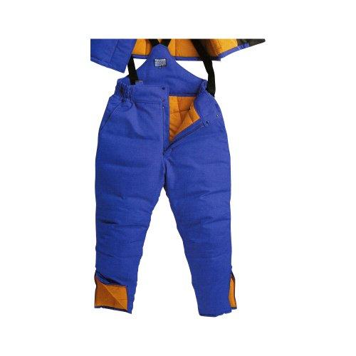 (サンエス) SUN-S 冷凍倉庫用防寒着 防寒パンツ (ST8005) 防寒パンツ ブルーXブラック M