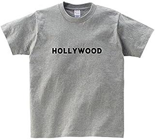 Lindwurm Tシャツ メンズ 半袖 おしゃれ ロゴT ハリウッド シンプル HOLLYWOOD 海外 クルーネック Uネック ユニセックス 男女兼用 プリントTシャツ