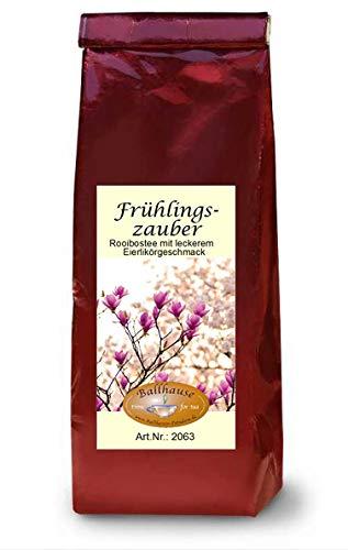 Frühlingszauber, 100g Eierlikör-Rooibostee, Ostertee, Frühlingsmischung