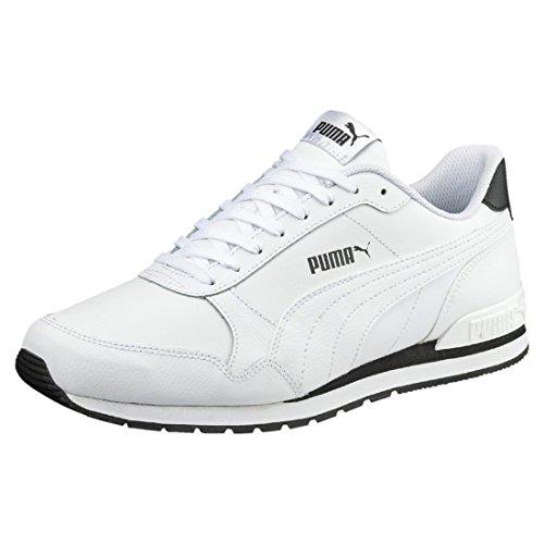 PUMA Unisex ST Runner v2 Full L Sneaker, White White, 43 EU