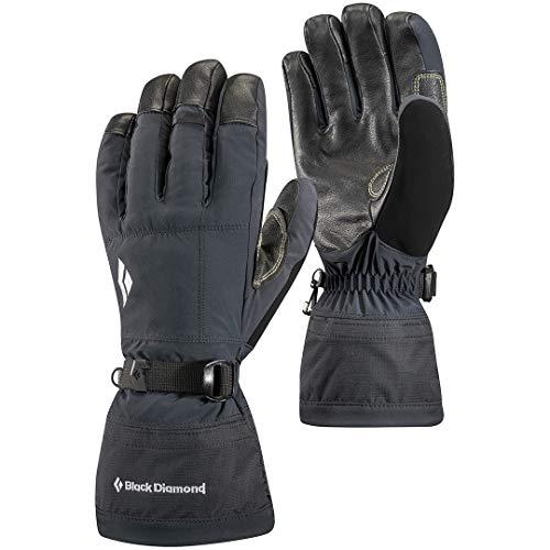 Black Diamond Gants Soloist - Gants d'hiver imperméables - Idéaux pour activités en montagne par temps froid - Avec paumes en cuir / Unisexe, noir, ta