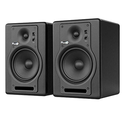 "Fluid Audio F5 (Pair) - 5"" 2-way Studio Reference Monitors, Black"
