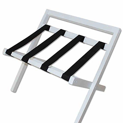 JHXLJ Solid wood hotel luggage rack Hotel opvouwbare bagagerek Plankdrager Houten plank