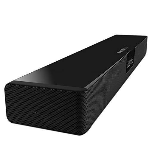 LEVEL GREAT Bluetooth 4.2 Estéreo de reproducción Musical Soundbox Altavoz Recargable de Bluetooth Soundbar Altavoz Inalámbrico Recargable del Cargador Inalámbrico del Teléfono