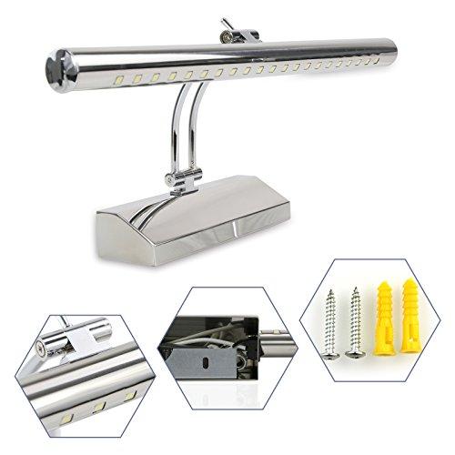 Bobotogo, Lampada per bagno, 5W, 7W, luce bianca fredda, a LED 5W kaltweiß