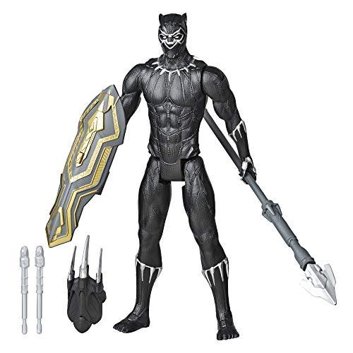 Hasbro E7388 Marvel Avengers Titan Hero Serie Blast Gear Deluxe Black Panther Figur, 30 cm groß, inspiriert von den Marvel Comics, Für Kinder ab 4 Jahren