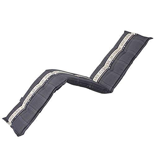 Madison 984836 Coussin pour Chaise Longue Coton/Polyester/Revêtement