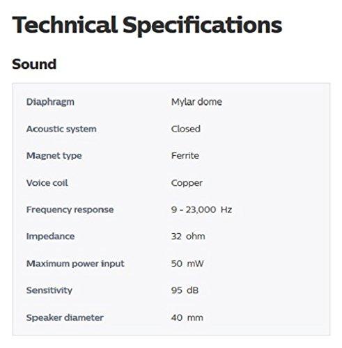 Philips Audio SHP2500/10 HiFi TV Kopfhörer (Exzellenter Sound, Geräuschisolation, idealer Sitz, Lautstärkeregler, Extralanges 6 m Kabel) silber/schwarz, Vorband verstellbar
