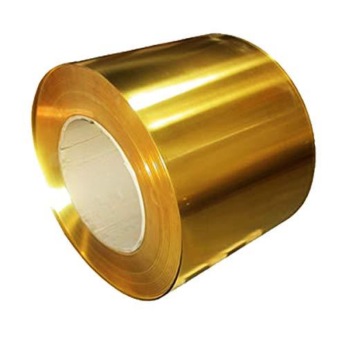 Messingblech Dünnblech Folienplatte 0,02 x 100 x 1000 mm