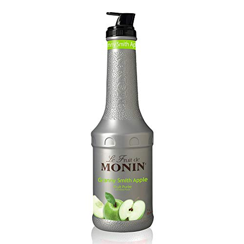 Monin - Granny Smith Apple Puree, Tart and Sweet, Great for Smoothies and Desserts, Gluten-Free, Vegan, Non-GMO (1 Liter)