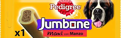 Pedigree Jumbone Maxi Snack per Cane, con Manzo 210 g 1Pezzo - 12...