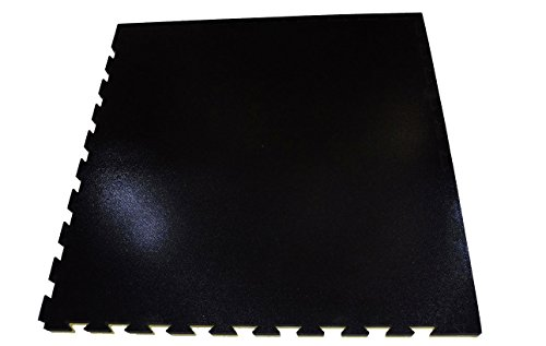 Suelo Tatami Puzzle 2 cms. 1 m. x 1 m. (Reversible Rojo/Negro)