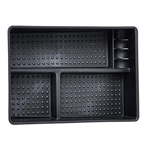 CLEIO Caja de Almacenamiento de automóviles Tray Center Console Armst Phone Wallet Teclas Contenedor Ajuste para Kia Optima K5 TF (Color Name : Black)