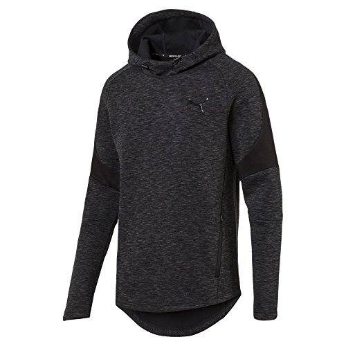 PUMA 851720 Sweat-Shirts Homme Cotton Black FR : S (Taille Fabricant : S)