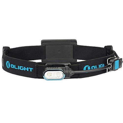 OLIGHT Array 400 lúmenes linterna frontal magnética recargable con foco e inundación...