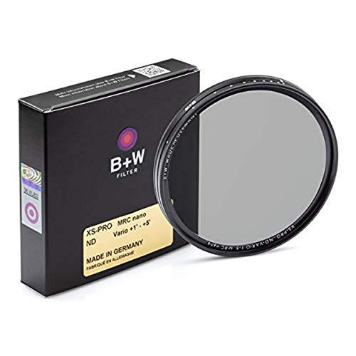 B+W - Filtro per fotocamera digitale neutro di densità varia XS-Pro Nano, rivestimento multi-resistente, 77 mm