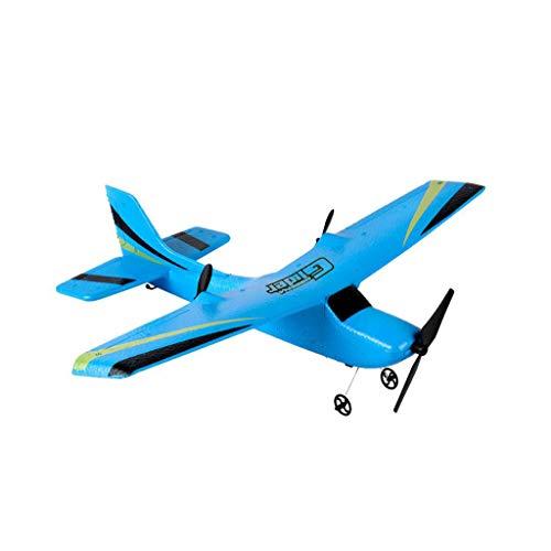 sunnymi Drohne, Z50 Gyro RTF Fernbedienung Segelflugzeug 350mm Spannweite EPP Micro Indoor RC Flugzeug / Surround-Flug / Höhenlage (Blau)