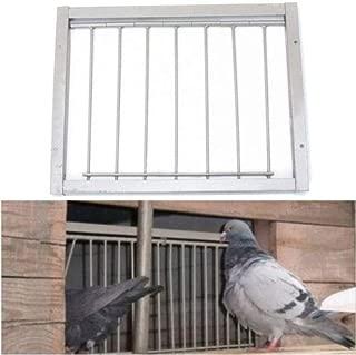 FidgetGear Iron Door Bob Wires Bars on Frame Entrance Tumbler for Racing Pigeon Loft Bird |