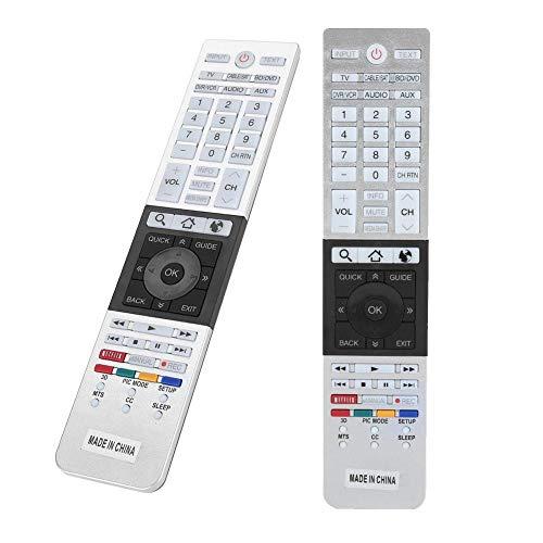 VBESTLIFE HD TV-Fernbedienung Ersatz für Toshiba CT-90430 CT-90429 LCD-Smart-Digital-TV-Box Fernsehen Audio Voice-Fernbedienung
