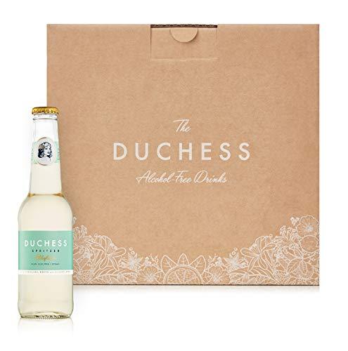 The Duchess Vino Sin Alcohol Spritzer, Elderflower White, Paquete de 12 (12 x 275 ml)