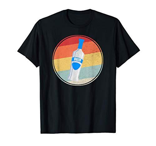 Ouzo Griechenland Schnaps Geschenk T-Shirt