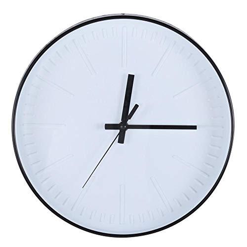 hong Reloj, Relojes de Pared, Reloj Moderno Relojes de Pared Decorativos para Dormitorio, Cocina, Sala de Estar, Oficina