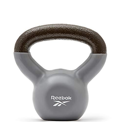 Reebok Unisex-Adult Kettlebell, Grau, 2 kg