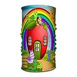 Quintion Robeson Elegante Crazy Bandana Neck Gaiter Head Wrap Diadema Bufanda Mascarilla Ultra Suave y elástico Pañuelo de Mano Muchos Caterpillar Apple House Forest Creativo