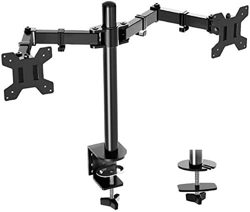 MOUNTUP Dual Monitor Desk Mount Stand Full Motion Computer Monitor Arm Mount for 2 LCD Screens product image