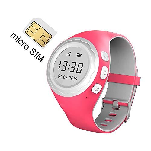 Pingonaut Kidswatch – Smartwatch / Telefonuhr für Kinder – mit GPS – Himbeer-Pink - 4