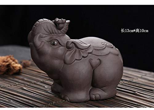 SINS Tee Haustier Elefant Lila TonWohnkulturTee Dekoration Tee HaustierTon Tee Haustier, B.