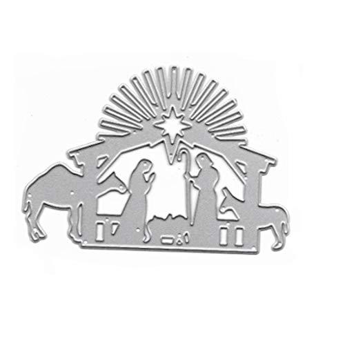 YOFO Kamel Metallschneidwerkzeuge Schablone DIY Scrapbooking Album Stempel Papierkarte Prägung Handwerk Dekor