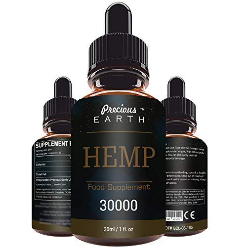 PRECIOUS EARTH – Komplex Natur Öl Tropfen 90 Prozent 30ML, reich an Fettsäuren, Vitaminen und Mineralien (30000)