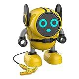 sharprepublic Cool Transforming Toys - Robot Change en Gyro para Niños, Mejor Regalo para Niñas - Amarillo