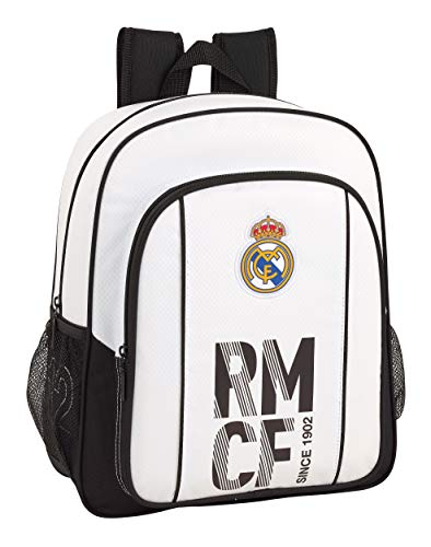 Real Madrid CF Mochila Junior niño Adaptable Carro.