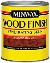 Minwax 700434444 Wood Finish Penetrating Stain, quart, Sedona