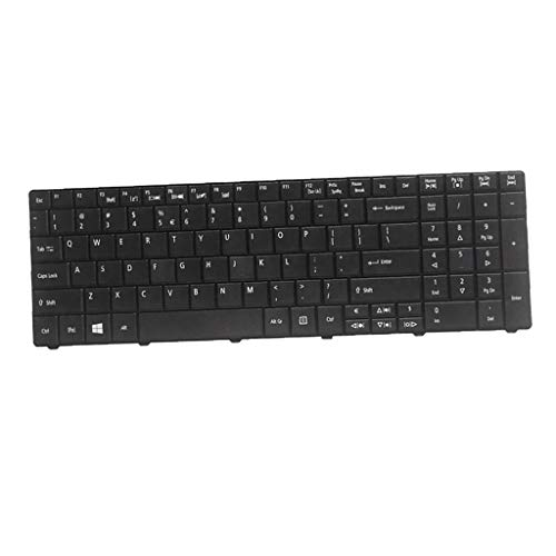 P Prettyia New Laptop Notebook Replacement Keyboard Compatible with Acer Aspire E1 521, E1 531,