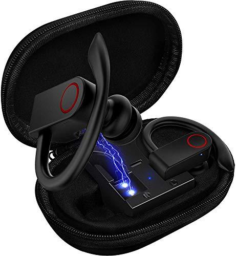 Auriculares de Bluetooth 5.0, con Kits de Recarga, micrófonos inalámbricos de 8 a 10 Horas.