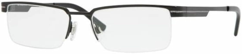 Burberry Eyeglasses BE1170 1001 Shiny Black Demo Lens 53 17 140