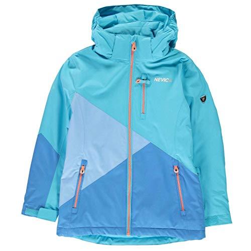 Nevica Mädchen Meribel Ski Jacke Skijacke Aqua/blau S