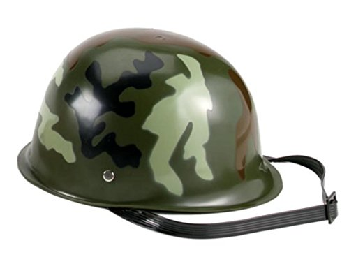 Rothco Kids Camouflage Army Helmet, Woodland Camo, O/S