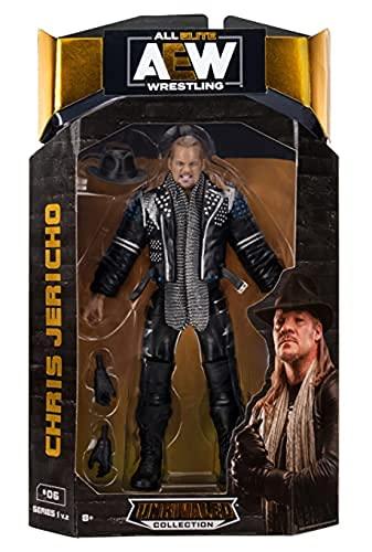 AEW Chris Jericho Unrivaled Series 1B (Variante) Figura de acción de lucha libre