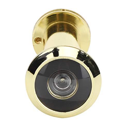 Mirilla de la Puerta con Cubierta de privacidad giratoria de Alta Resistencia para Grosor de Puerta 55-90 mm, ángulo antirrobo de 220 Grados, Seguridad para el hogar, la Oficina, el Hotel(3)
