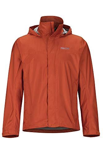 Marmot M. Europe, it sporting goods, 9IIY5 Precip Eco Jacket Giacca Antipioggia Rigida, Impermeabile, Antivento, Impermeabile, Traspirante, Uomo, Picante, M