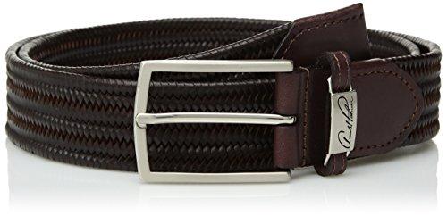Arnold Palmer Herren Geniune Bonded Leather Stretch Golf Belt Gürtel, braun, 36/38