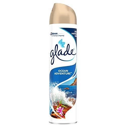 Glade (Brise) Duftspray für langanhaltende Frische in allen Räumen, Lufterfrischer Spray, Ocean Adventure, 1er Pack (1 x 300 ml)