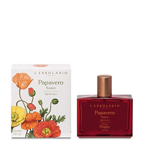 L'Erbolario Papavero Soave Sweet poppy, Parfüm Damen, 1er Pack, 50 ml