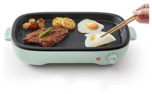 AJH Innengrill Grill Grills Tischgrill Innen, 1200W Rauchfreier Grill, Temperaturregelung, geeignet